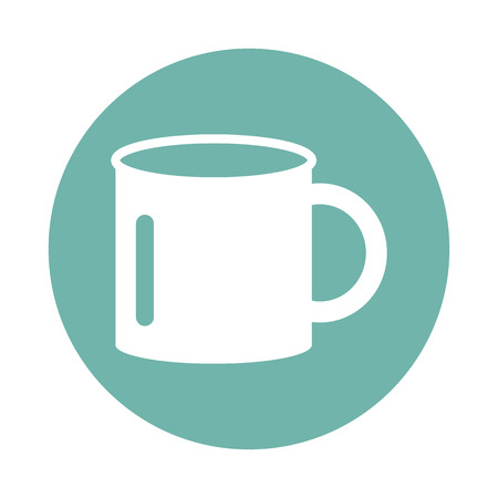 drink tools: Travel cup icon Illustration