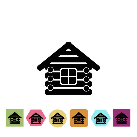 wood house: Wood house icon