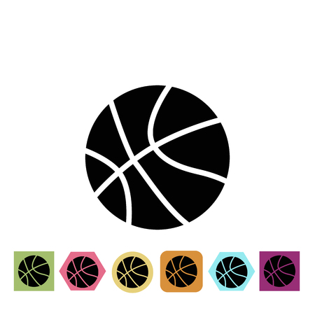 invent: Basketball ball icon