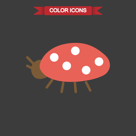 ladybug: Color illustration of ladybug Illustration
