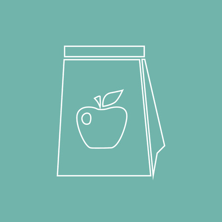 meal: Package with meal icon