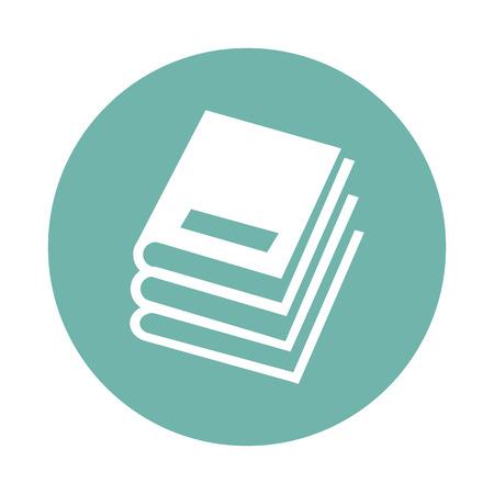 the icon: Book icon Illustration