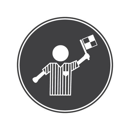 arbitro: �rbitro icono Fotball