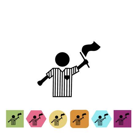 arbitro: árbitro icono Fotball