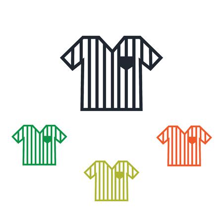 referee: Referee shirt icon