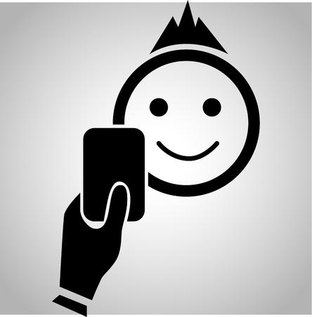 judge players: Warning card icon