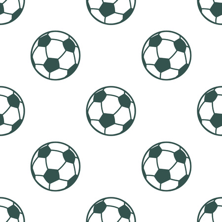 the attribute: Color illustration of football ball