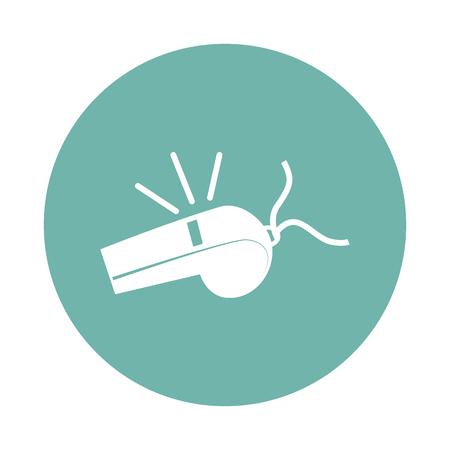 referee: Referee whistle icon