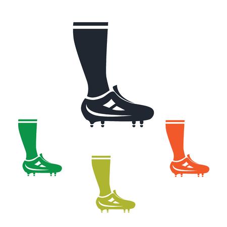 gaiters: Football player leg icon