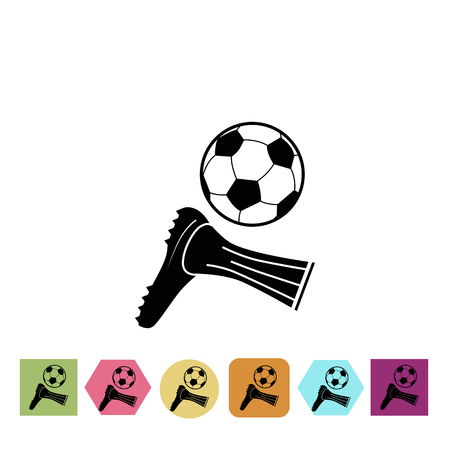 gaiters: Football hit icon