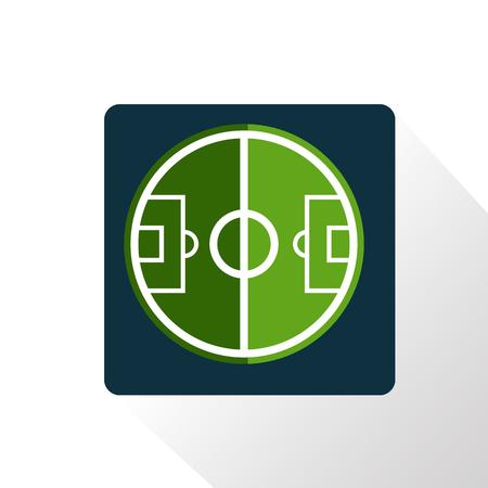 interpretation: Football field interpretation icon