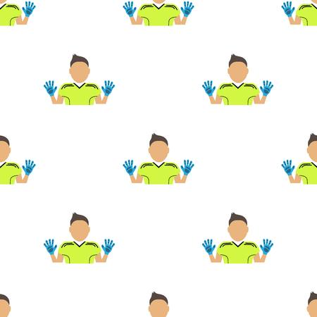 arquero: Color del icono portero de fútbol