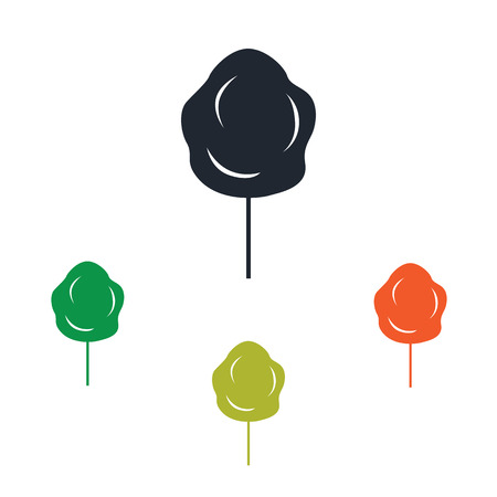 air show: Cotton sweet icon Illustration