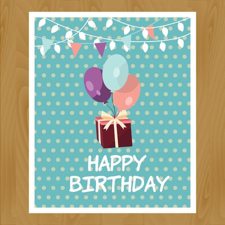 birthday invitation: Illustration of birthday invitation card Illustration