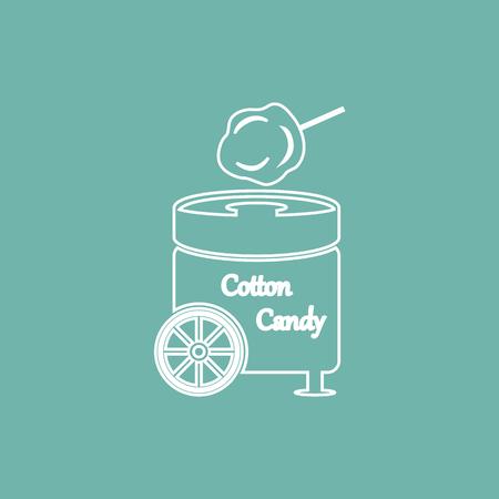 air show: Cotton sweet machine icon