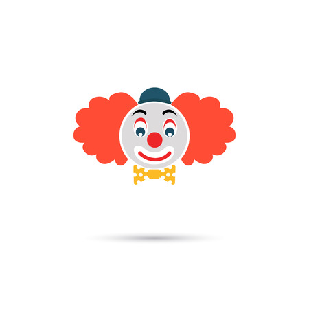 clone: Color clone face icon Illustration