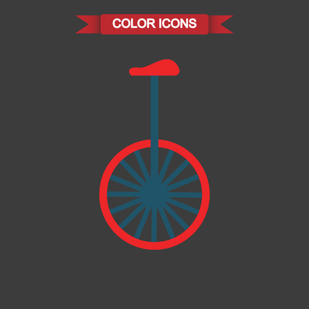 spoke: Color circus bike icon