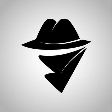 genre: Detective movie genre icon Illustration