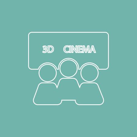 screening: Film screening icon