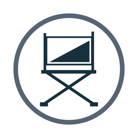 director chair: Director chair icon