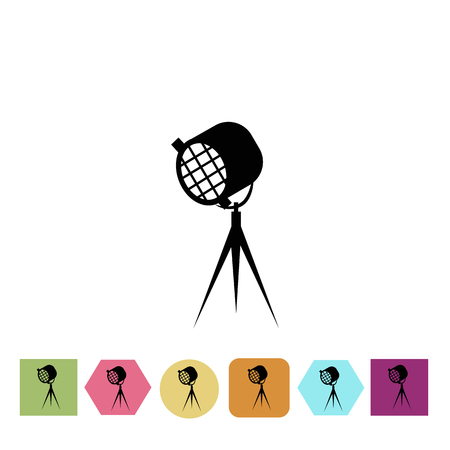 Movie spotlight icon