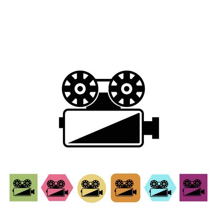 premiere: Video projector icon