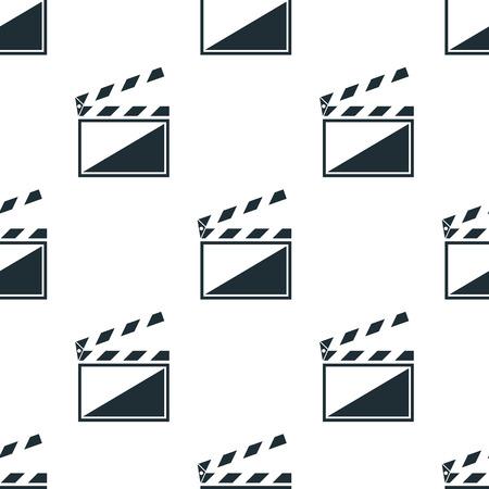 clapper: A film clapper icon