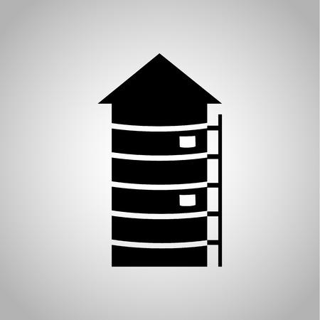 silos: Silo icon