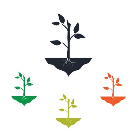 farm land: Plant icon