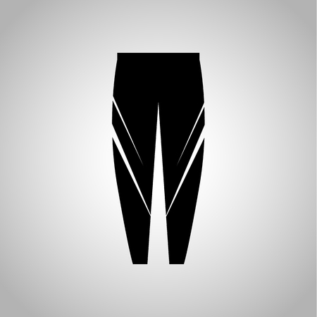 leggings: Sport leggings icon