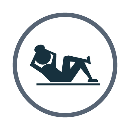 pumping: Sport exercise icon