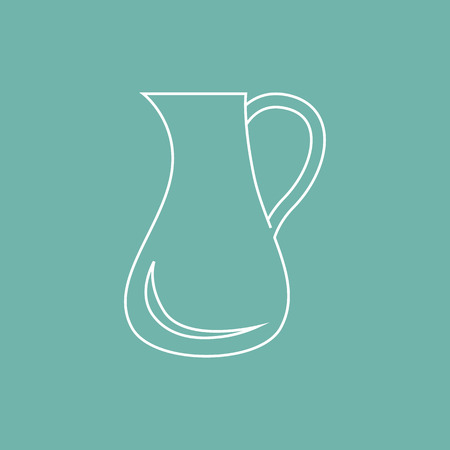 pitcher: Pitcher icon Illustration