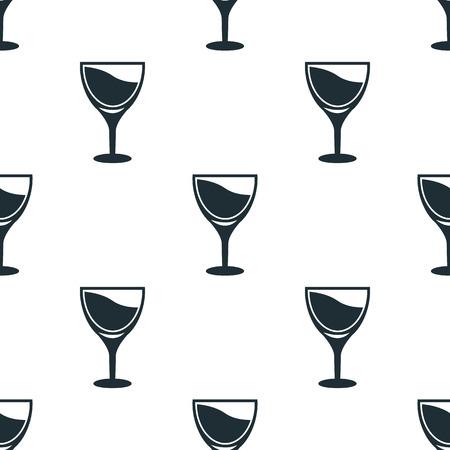 wineglass: Wineglass icon Illustration