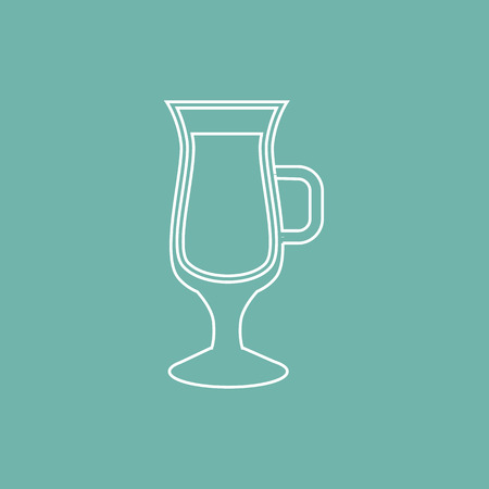 mulled wine: Mulled wine cup icon
