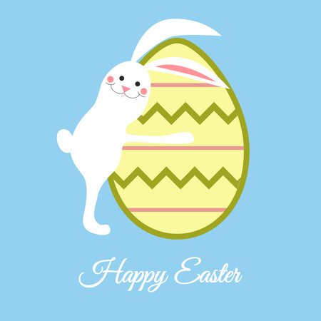 greating card: Easter greating card illustration Illustration