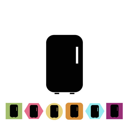 fridge: Fridge icon Illustration