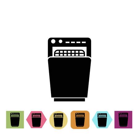 lavaplatos: icono de lavavajillas