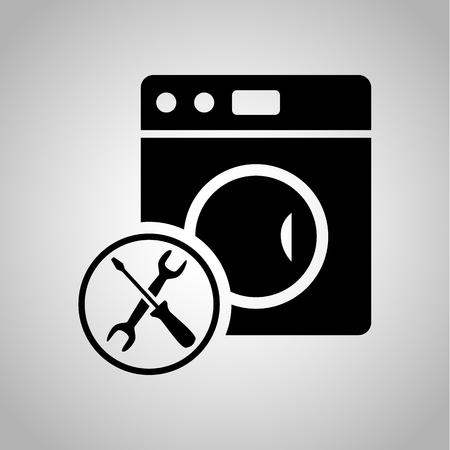 washer machine: Washer machine repair icon