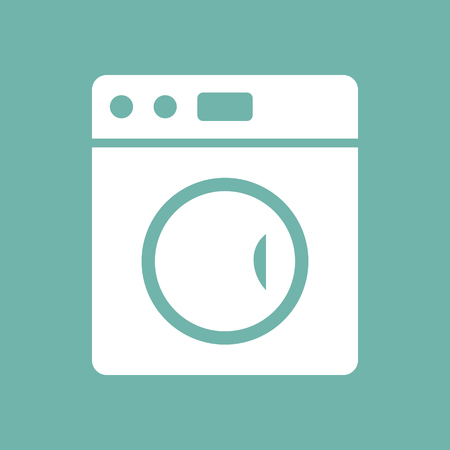 Washing machine icon 向量圖像
