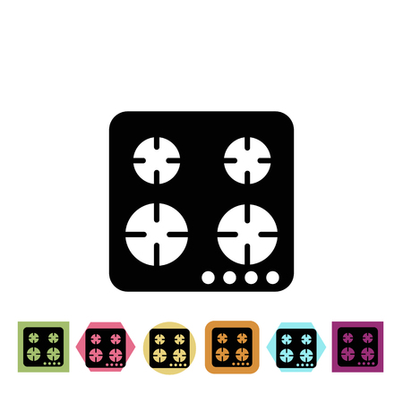 Cooktop icon