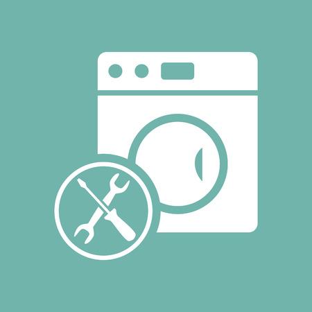washer: Washer machine repair icon