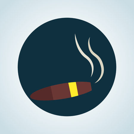 prestige: illustration of sigar icon Illustration