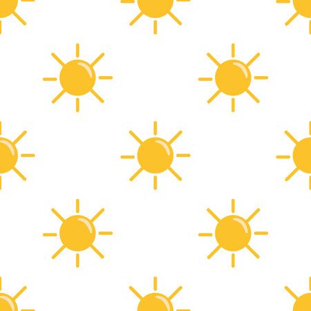 forecaster: Illustration of sunny weather icon