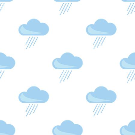 forecaster: Illustration of rainy weather icon
