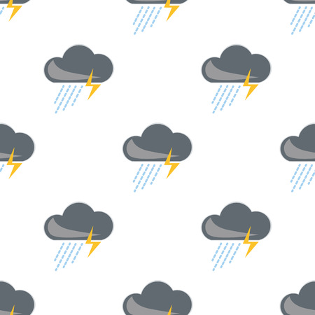sediment: Illustration of storm weather icon
