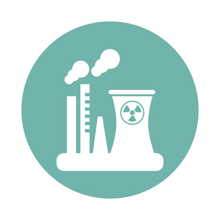 icona di fabbrica L'energia nucleare