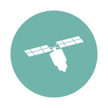 satelite: Satelite icon Illustration