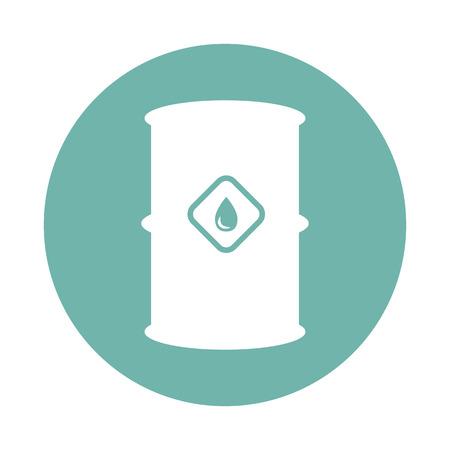 barel: Oil barel icon Illustration