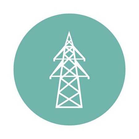 icono de la torre de alta tensión