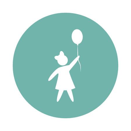 kin: Girl with balloon icon